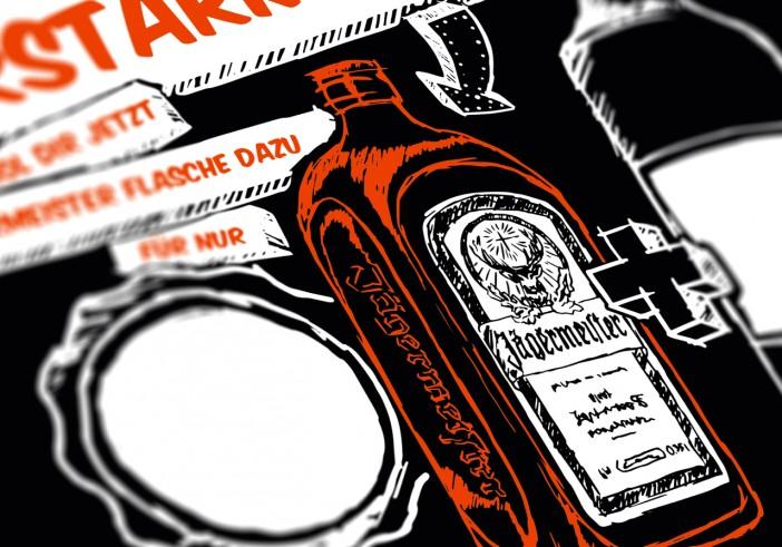 """Jägermeister """"0,35L-Flasche""""-Aktivierung"""